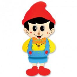 Orologio Pinocchio movimento occhi