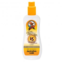 Australian Gold Spray Gel Sunscreen 15